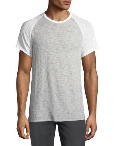 Men's Raglan-Sleeve Baseball T-Shirt