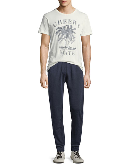 Men's French Terry Cloth Track Pants
