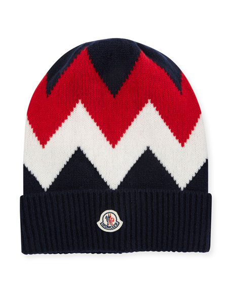 bfd86f028f5 Moncler Men s Berretto Tricot Beanie Hat