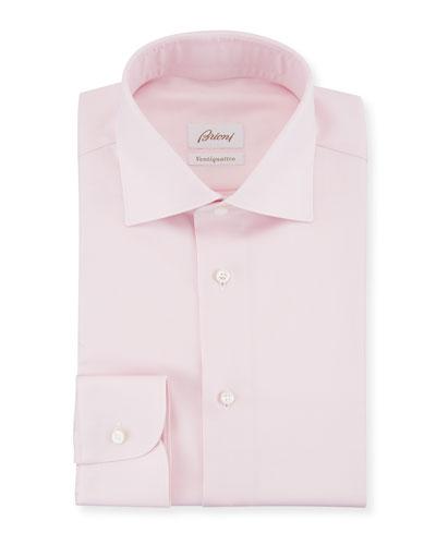 Ventiquattro Twill Dress Shirt