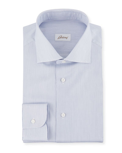 Men's Slim-Stripe Dress Shirt