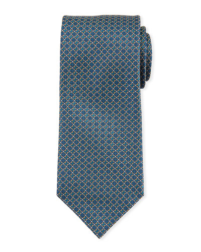 Lattice Silk Tie