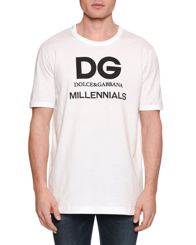 Men's Logo Typographic T-Shirt