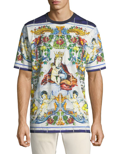 Men's Mailoica Madonna T-Shirt