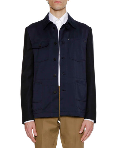 Men's Work Wear Knit Jacket