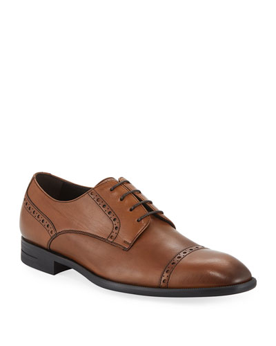 Men's New Flex Cap-Toe Derby Shoes