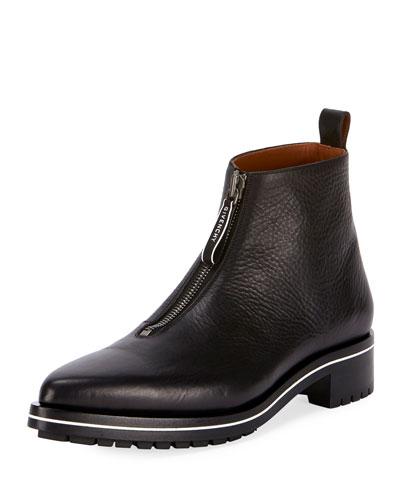 Men's Richmond Front-Zip Boots