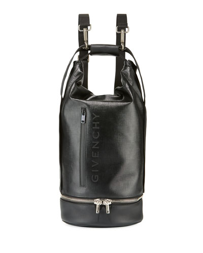 Men's Jaw Large Faux-Leather Hybrid Bag