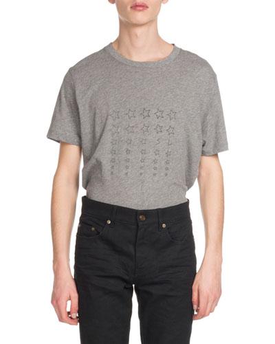 Men's Stars Graphic T-Shirt