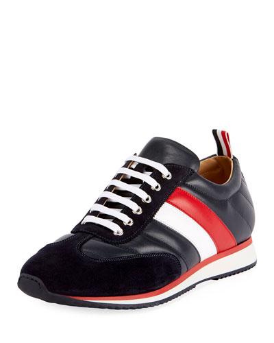 Men's Quilted Running Sneakers
