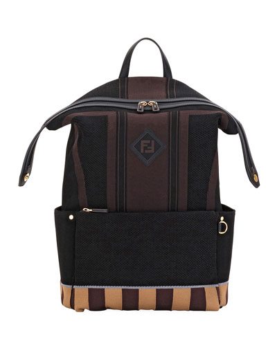 Men's Forever Fendi Knit Backpack
