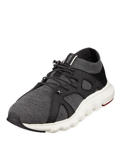 Men's Tech Sock Trainer Sneakers