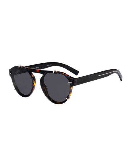 Dior Men's Round Clipped Optyl® Sunglasses