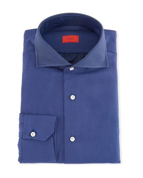 Isaia Men's Oxford Dress Shirt