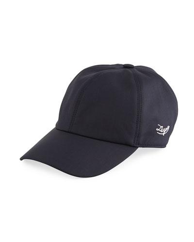 Men's Leggerissimo Wool/Silk Baseball Cap