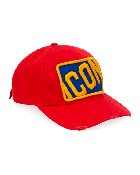 Men's Icon Patched Baseball Cap