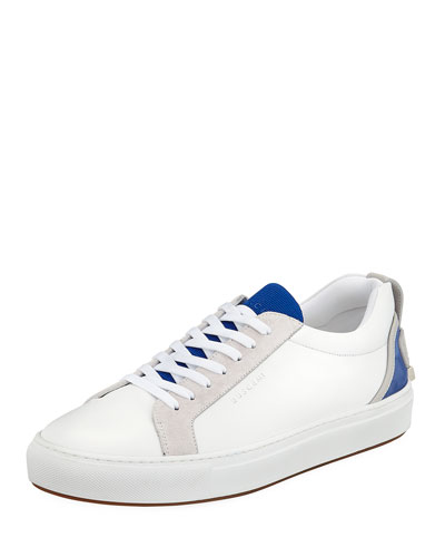 Men's Lyndon Leather Low-Top Sneakers