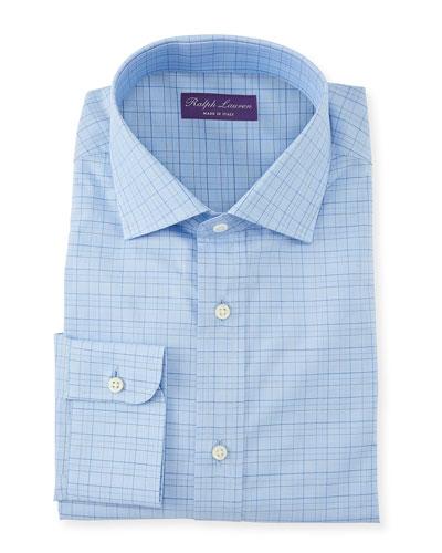 Men's Aston Windowpane Dress Shirt