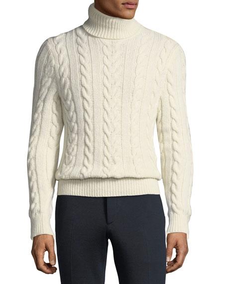 cbfe5b3fd9b7e6 Ralph Lauren Men's Cashmere Turtleneck Sweater
