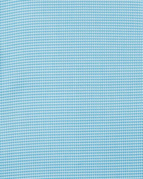 Men's Textured Solid Dress Shirt