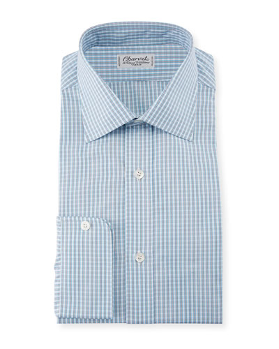 Men's Plaid Dress Shirt