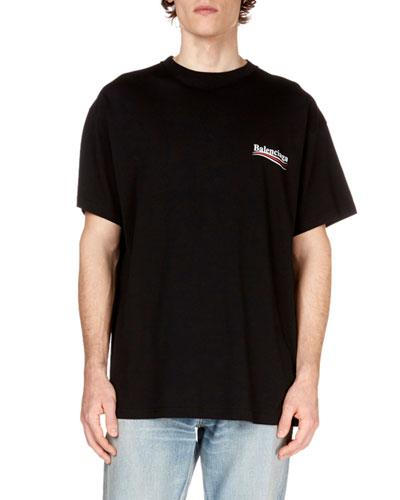 Men's Campaign Logo Crewneck T-Shirt