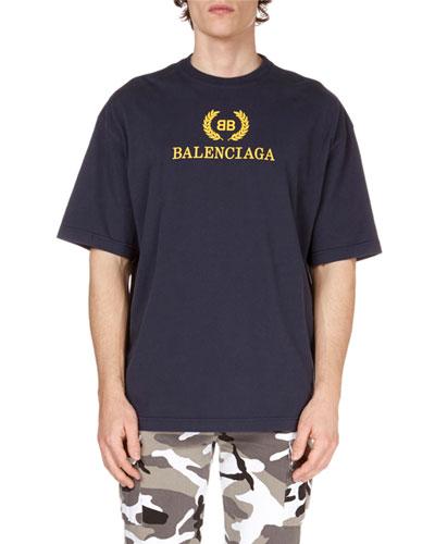 Men's Logo-Graphic Cotton T-Shirt