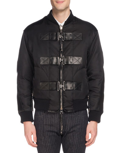 Men's Cabah Buckle-Strap Jacket