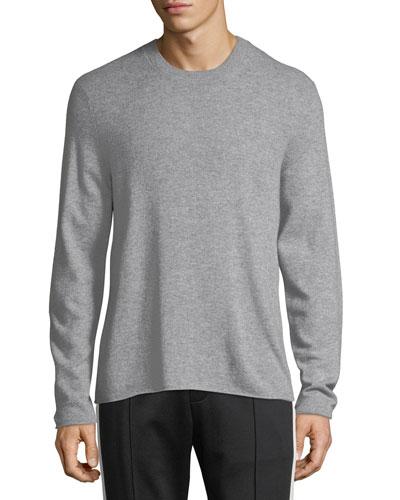 Men's Cashmere Crewneck Pullover Sweater