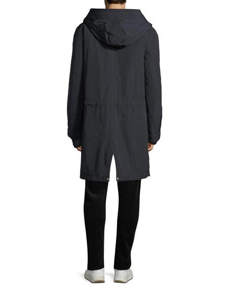 Men's Reverse Fair Isle Crewneck Yak-Wool Sweater