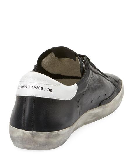 Men's Superstar Bicolor Leather Low-Top Sneakers