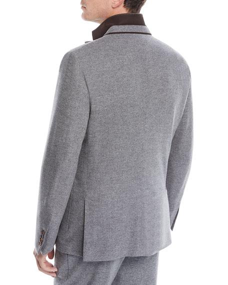 Men's Wool-Cashmere Blazer Jacket