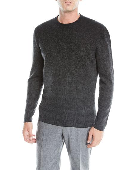 Ermenegildo Zegna Men's Ombre Check Cashmere Sweater