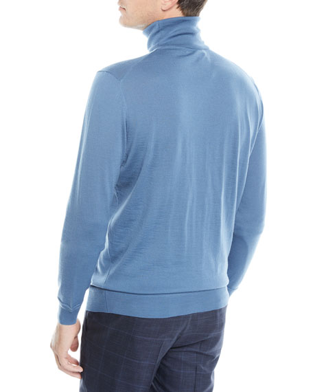 Men's Wool-Cashmere Turtleneck Sweater