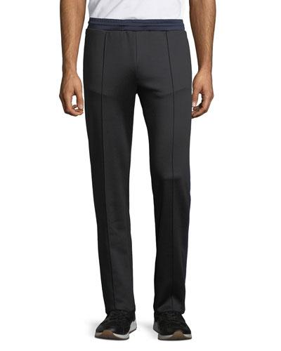 Men's Contrast-Trim Track Pants