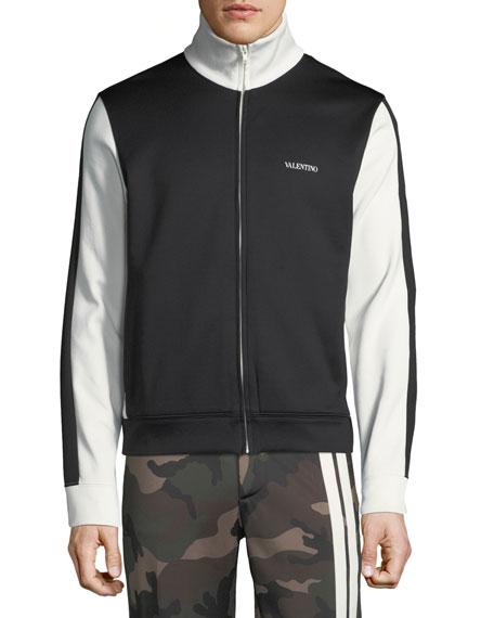 b5e51827a521c Valentino Men's Logo Track Jacket