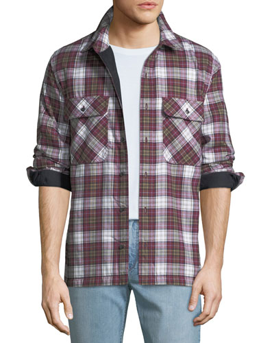 Men's Barlow Plaid Overshirt