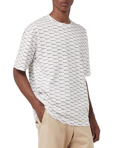 Men's Ryford Archive Logo T-Shirt, White