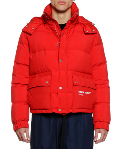 Men's Quote Puffer Jacket