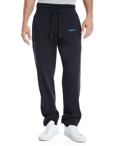 Men's Gradient Cotton Sweatpants