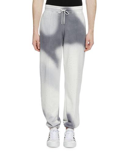Men's Spray Pattern Sweatpants