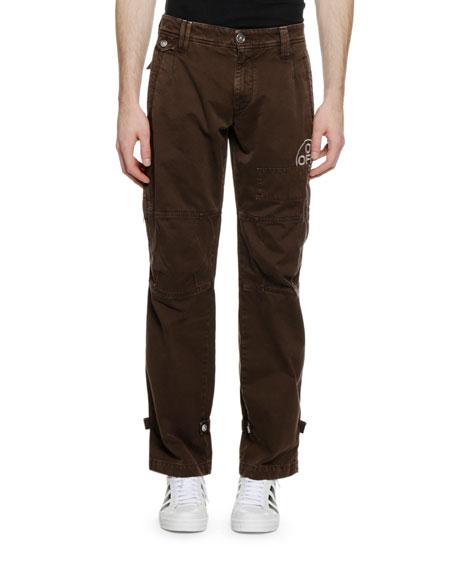 Men's Multi-Pocket Chino Pants