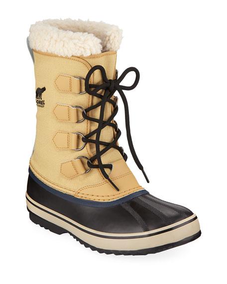 Men'S 1964 Sherpa-Lined All-Weather Waterproof Duck Boots in Beige