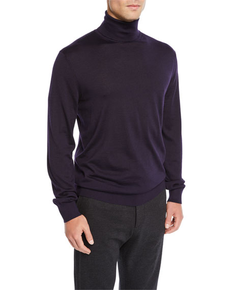 Ermenegildo Zegna Men's Cashmere Turtleneck Sweater