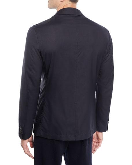 Men's Wool-Blend Travel Jacket