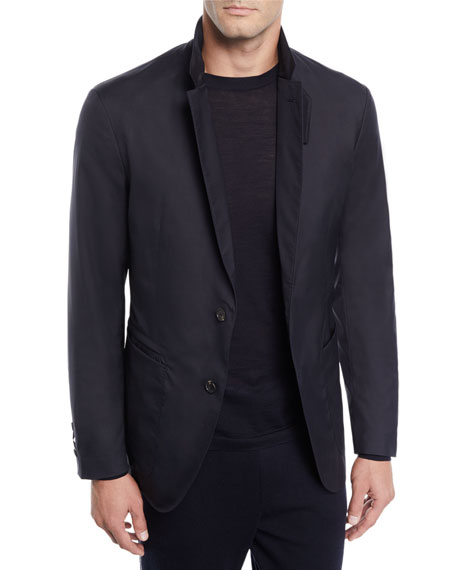 a5e4ba6e Men's Wool-Blend Travel Jacket