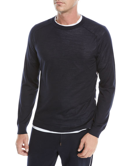 Men's Wool Crewneck Sweatshirt