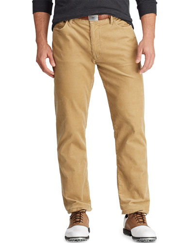 Men's Classic-Fit Corduroy Performance Golf Pants