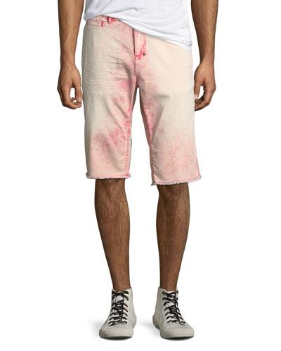 Men's Faded Cotton Twill Shorts