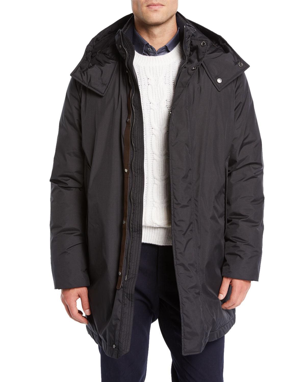 new product 20d8b 94ad7 Men's Microfiber Down Puffer Coat